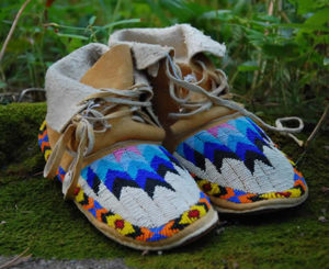 Small Decorative Mocassins