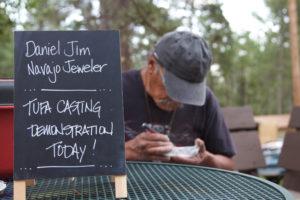 Navajo Tufa Casting W/ Daniel Jim